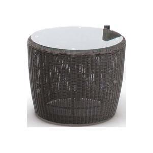 テーブルセット 庭座 人工ラタン 3点セット ダークブラウン 椅子 ガーデンファニチャー LoomGarden ロムガーデン タカショー TK-P1198|doanosoto|03
