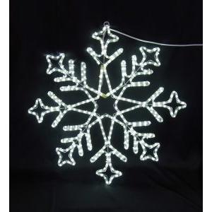 イルミネーション ディスプレイ 飾り 照明 ライティング クリスマス 雪 LEDスノーフレーク 白色 L2DM240 CR-77|doanosoto