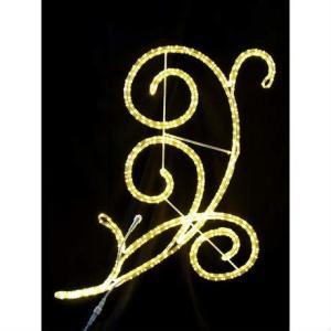 LED イルミネーション ディスプレイ 飾り 照明 ライティング クリスマス ストリートモチーフ アラベスク110 L2DM300 CR-74|doanosoto