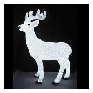 イルミネーション クリスマス LED トナカイ 動物 ディスプレイ 飾り ライティング スタンド L3D111 CR-89 照明 ライト イベント ガーデン 庭|doanosoto