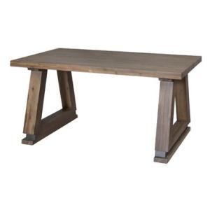 ダイニングテーブル 天然木 ライアン シンプル 重厚感 古木風 AZ2-145 LAY-751T|doanosoto