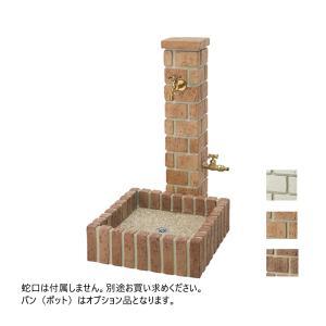 水栓柱 立水栓 双口 2口 庭 水道 水回り タイトレンガタイプ 全3色 ユニソン NeoCASTY ネオキャスティ MYT-265|doanosoto