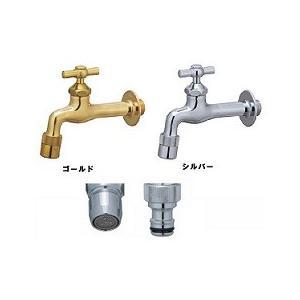 蛇口 水栓 プレーンフォーセット 水道 庭 水回り ガーデニング スタンダード 3点セット 全2色 ユニソン MYT-P271|doanosoto|05