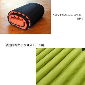 リングロッキングチェア 椅子 折り畳み リビング テラス バルコニー クッション付き 全2色 GA-P262|doanosoto|02