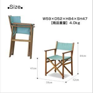 椅子 ディレクターチェア 折りたたみ アウトドア キャンプ BBQ パティオ 全4色 Azumaya 東谷 AZ2-218 NX-601|doanosoto|02
