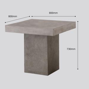 テーブル チェア 椅子 3点セット セメント ガーデンファニチャー セメント Saveri サベリ Dessau デッサウ 庭 テラス モダン タカショー TK-P1243 doanosoto 05