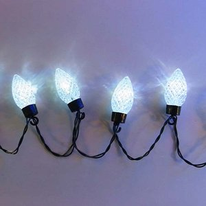 室内用 イルミネーション LED ホワイト ストロベリー ライト 20球 ST20W CR-99 クリスマス ライト 照明 イベント|doanosoto