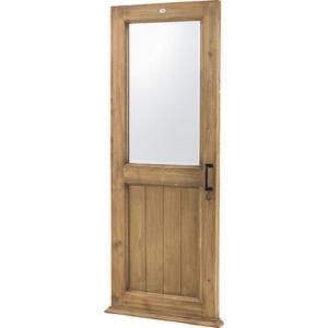 鏡 ミラー 姿見 全身鏡 ドア型 天然木 杉 飛散防止 木目調 カバー インテリア AZ2-168 TSM-277|doanosoto
