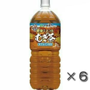 伊藤園 健康ミネラルむぎ茶 2.0L 1箱(6本入)