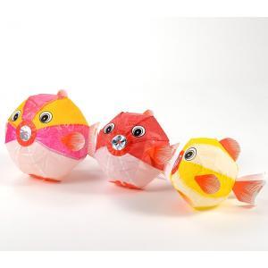 紙風船 金魚 3枚セット|doc-furusatowari