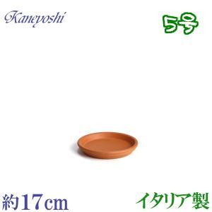 植木鉢 陶器 受皿 おしゃれ サイズ 17cm イタリア製 素焼のお皿|docchan