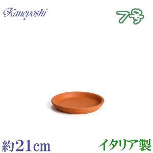 植木鉢 陶器 受皿 おしゃれ サイズ 21cm イタリア製 素焼のお皿|docchan