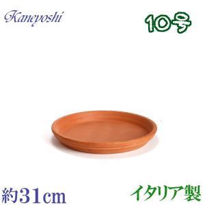 植木鉢 陶器 受皿 おしゃれ サイズ 31cm イタリア製 素焼のお皿|docchan