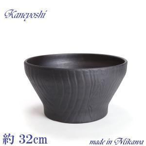 植木鉢 陶器 おしゃれ サイズ 31cm 安くて丈夫 ナチュラル木目 ブラウン 10号|docchan