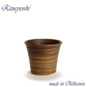 植木鉢 陶器 おしゃれ サイズ 19cm 安くて丈夫 ブーケ ブラウン 6号|docchan