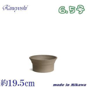 植木鉢 陶器 おしゃれ サイズ 19.5cm 安くて丈夫 雅 モカ 6.5号|docchan