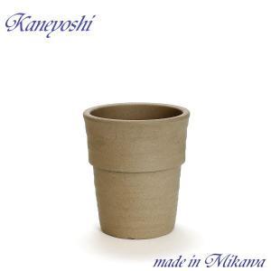 植木鉢 陶器 おしゃれ サイズ 19cm 安くて丈夫 ラポール モカ 6号|docchan