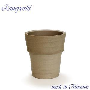 植木鉢 陶器 おしゃれ サイズ 21cm 安くて丈夫 ラポール モカ 7号|docchan