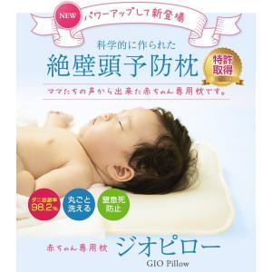 赤ちゃん専用 絶壁頭予防枕 GIO Pillowジオピロー doctorsmarche