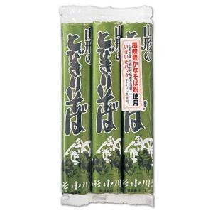 【小川製麺所】 山形のとびきりそば 150g×3束|dodgers
