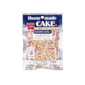 【共立食品】Home made CAKEミックスカラースプレー 50g|dodgers