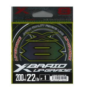 X BRAID UPGRADE X8 200m/22lb/#1 YGK よつあみ エックスブレイド ...