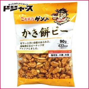 【カネタ】こだわりゲンさん かき餅ピー 90g