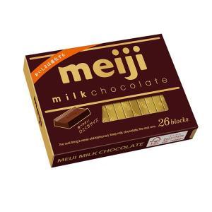 【キャッシュレス5%還元対象】 明治 ミルクチョコレート 120g(26枚) 管理番号171910 ...