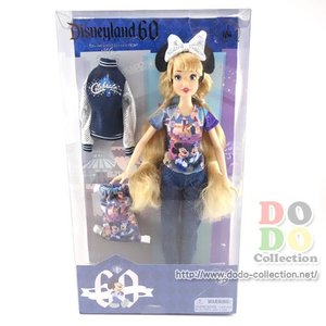 ディズニーランド60周年限定 ドール 人形 ダイヤモンド・セレブレーション アメリカディズニーパーク 限定 グッズ お土産|dodo-collection