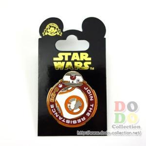 スターウォーズ フォースの覚醒 BB-8 ピンバッジ アメリカディズニーパーク 限定 グッズ お土産