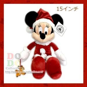 サンタミニー ぬいぐるみ ディズニークリスマス 2016年 アメリカディズニーパーク 限定 グッズ お土産 dodo-collection