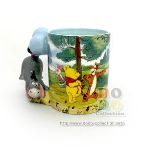 くまのプーさん イーヨー 風船 陶器製 マグカップ アメリカディズニーパーク 限定 グッズ お土産|dodo-collection