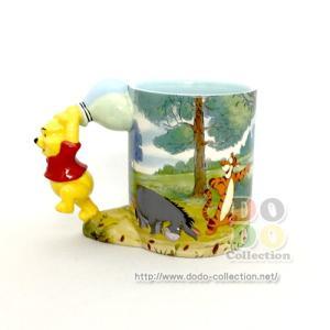 くまのプーさん 風船 陶器製 マグカップ アメリカディズニーパーク 限定 グッズ お土産|dodo-collection