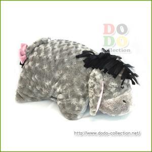 くまのプーさん イーヨー ふわふわ ピロー 抱き枕 クッション アメリカディズニーパーク 限定 グッズ お土産|dodo-collection