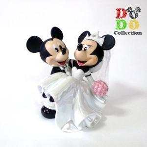 ミッキー&ミニー 結婚式 ウェディング フィギュアリン アメリカディズニーパーク 限定 グッズ お土産|dodo-collection