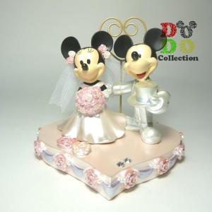 ミッキー&ミニー 結婚式 ウェディング スタンドクリップ 東京ディズニーリゾート 限定 グッズ お土産 ギフト|dodo-collection