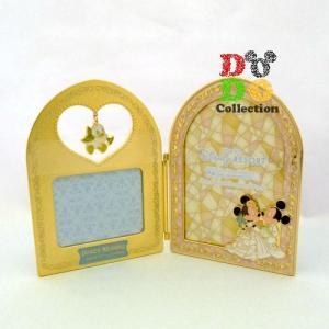 ミッキー&ミニー 結婚式 ウェディング フォトスタンド 写真立て 東京ディズニーリゾート 限定 グッズ お土産 ギフト|dodo-collection