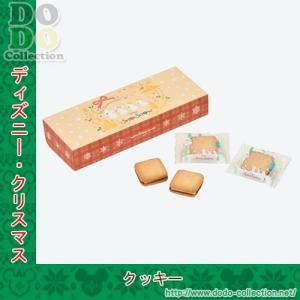 サンドクッキー 紙箱入り 予約 スノースノー ディズニークリスマス2019年 東京ディズニーリゾート...