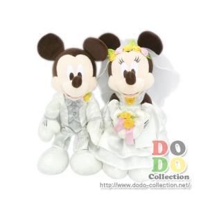 ミッキー&ミニー 結婚式 ウェディング ぬいぐるみ Lサイズ 東京ディズニーリゾート 限定 グッズ お土産|dodo-collection