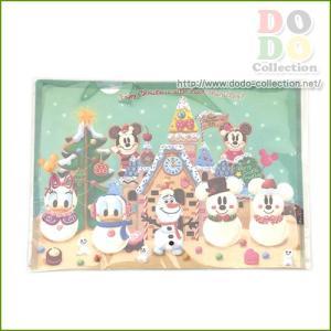 ディズニークリスマス☆2015 お菓子の世界 メインデザイン クリアホルダー 東京ディズニーリゾート 限定 グッズ お土産 dodo-collection