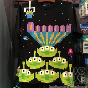 グリーンメン デジタルデザイン ドット Tシャツ S M  L LL 東京ディズニーリゾート 限定 グッズ お土産|dodo-collection