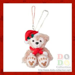 ダッフィーのクリスマス2016年 ダッフィー クリスマス・ウィッシュ ぬいぐるみストラップ 東京ディズニーシー限定 グッズ お土産