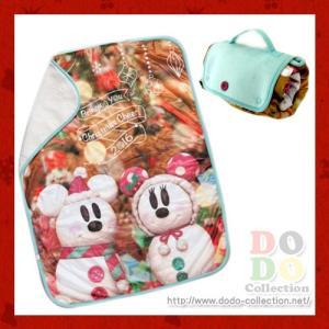 ミッキー ミニー スノースノー ブランケット ディズニークリスマス2016年 東京ディズニーランド 限定 グッズ お土産 dodo-collection
