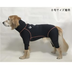 ドッグスノースーツ 大型犬用 10号サイズ|dog-and-fishing