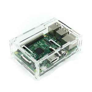 Raspberry Pi B+ ラズベリー パイ MODEL B PLUS クリア ケース ヒートシ...