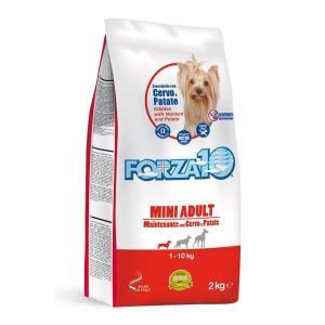 フォルツァディエチ FORZA10 ミニメンテナンス 鹿肉&ポテト2kg×6袋 アレルギー対応 成犬 フォルツァ10 dog-k9