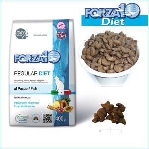 フォルツァディエチ FORZA10 レギュラーダイエット ローグレイン フィッシュ 400g フォルツァ10 キャットフード 猫 dog-k9