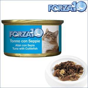 フォルツァディエチ FORZA10 メンテナンス マグロ&イカ 1ケース85g×12缶 フォルツァ10 キャットフード 猫 dog-k9