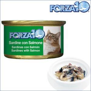 FORZA10 フォルツァディエチ メンテナンス イワシ&サーモン 1ケース85g×12缶 フォルツァ10 キャットフード 猫 dog-k9