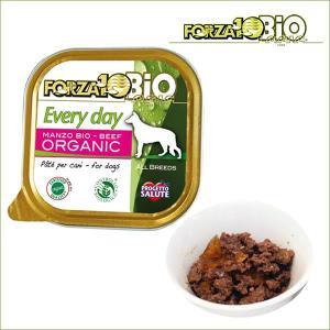 フォルツァディエチ FORZA10 エブリディ ビオ ビーフ 100g×1缶 世界認証のオーガニック有機食フォルツァ10|dog-k9